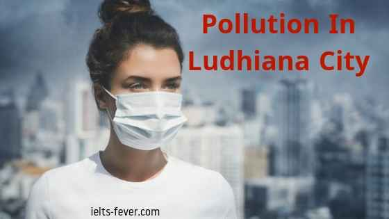 pollution in Ludhiana City punjab state
