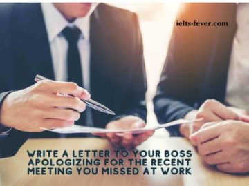 Write a letter to your boss apologizing for the recent meeting you missed at work