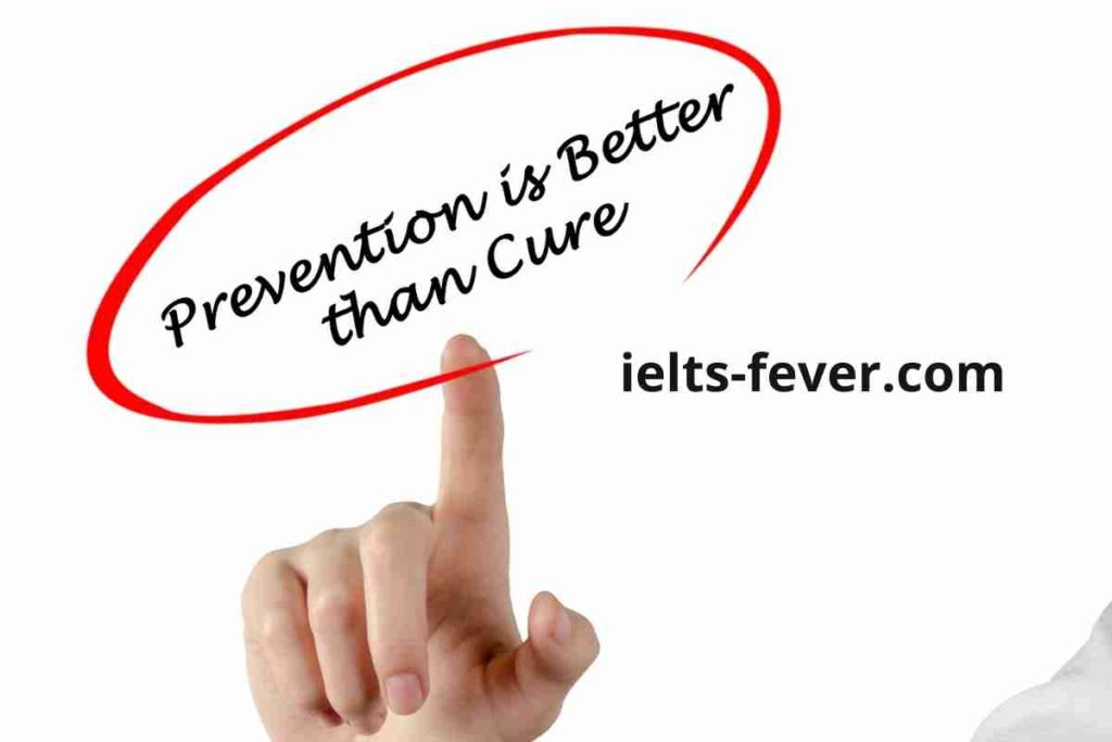 """""""Prevention is better than cure."""" Out of a country's health budget (4)"""